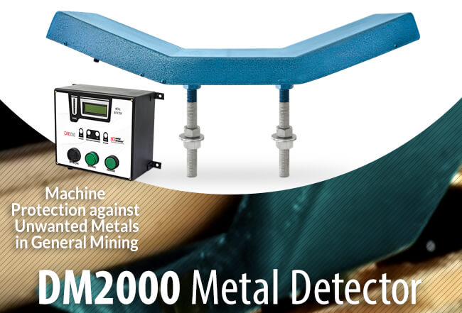 Metal Detector for Equipment Protection - DM 2000