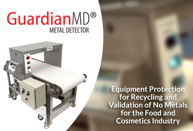 High Sensitivity Detector - Guardian MD Metal Detector